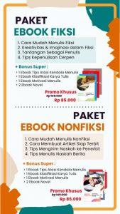 Promo Ebook Fiksi & Nonfiksi